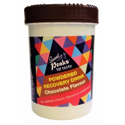 Sweet Peaks Chocolate Recovery Drink
