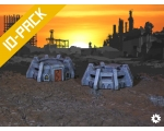Gothic Bunkers 10-Pack