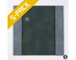 Urban Streets Straight Tile 5-Pack
