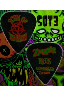 Riggs SOTE Zombie guitar pick from 1998