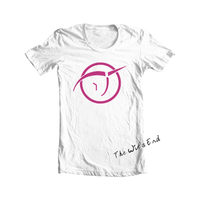 Invisible Pink Unicorn symbol tee