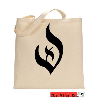 Deist Symbol Canvas Tote Bag