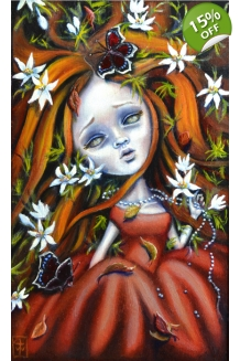 Terri Woodward - Autumn´s Last Bloom - Original ..