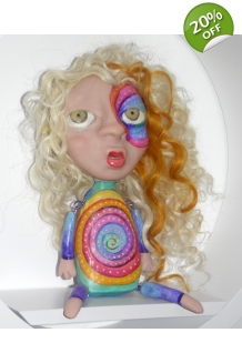 Simone Young - Echo - OOAK Doll