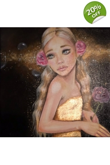 Kim Turner - Princess Rosette - Original Painting