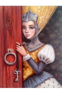 Tanya Bond - Curiousity - Original Painting