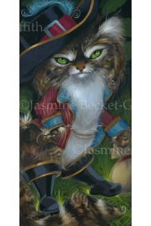Jasmine Becket-Griffit - Puss in Boots - LE Canv..