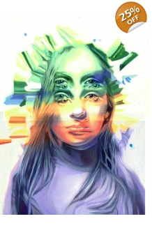 Alex Garant - The First Mirage -  Original Paint..
