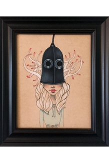 Lea Barozzi - Me and the Devil - Original Painting