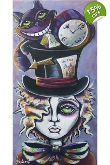 Lizzy Falcon - Hatter´s Gone Mad - Original Painting