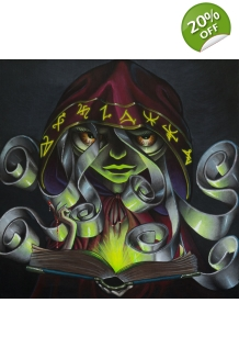 Vitxy - The Book of Secrets - Original Painting