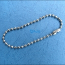 Silver Tone Ball Chains..