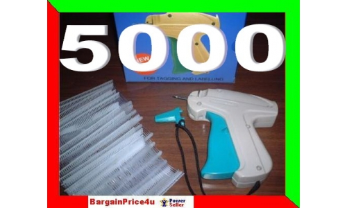 Price Tag Gun Set with 5000 barbs