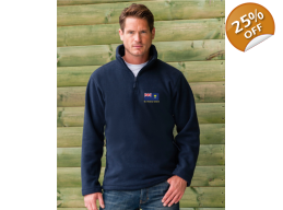 Russell Zip Neck Outdoor Fleece