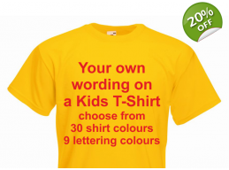 Kids Personalised T-Shirt