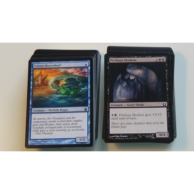 10 random mixed magic the gathering cards lot