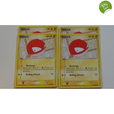 EX Hidden Legends 80 / 101 Voltorb Pokemon Pokémon