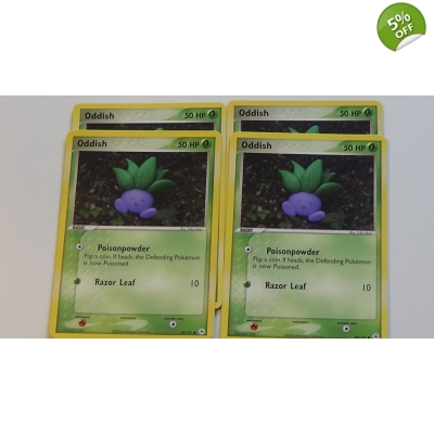EX Hidden Legends 68 / 101 Oddish Pokemon Pokémon