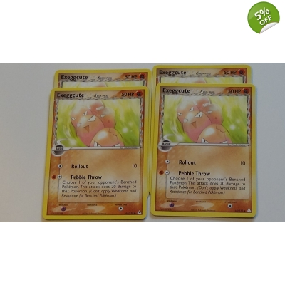EX Holon Phantoms 65 / 110 Exeggcute Pokemon Pok..