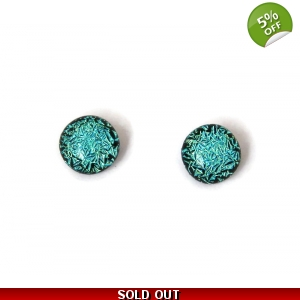 Dichroic Glass Studs Hy..