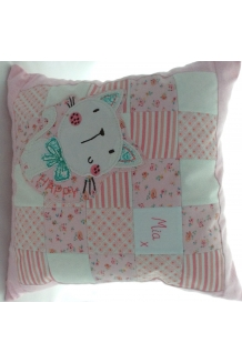 Keepsake Patchwork Cushion