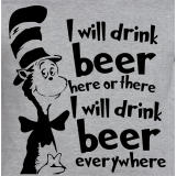 Dr. Seuss Beer T-Shirt