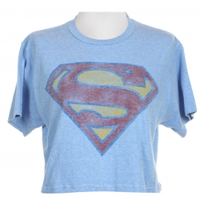 Superman Cropped T-Shirt
