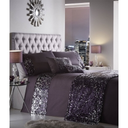 DAZZLE AMETHYST QUILTED RUNNER