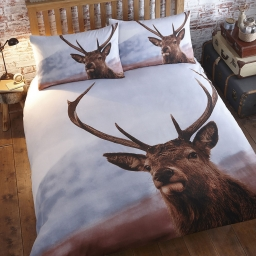 RUSTIC HIGHLAND STAG KINGSIZE