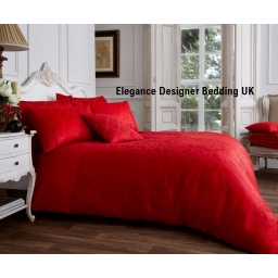 VINSENZA JACQUARD SINGLE RED