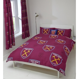WEST HAM DOUBLE DUVET SET