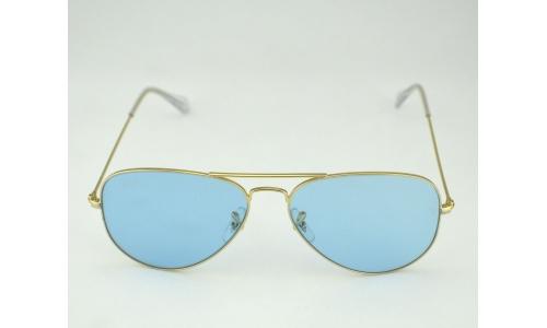 Aviator Sunglasses Gold Frame Crystal Blue Lens : Ray Ban Aviator Crystal Gold Frame Sky Blue Legend Lens ...