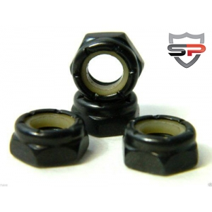 Skateboard Axle Nuts 4 Pieces