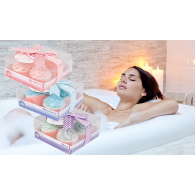 Fairycake Bath Bomb Gift Set..