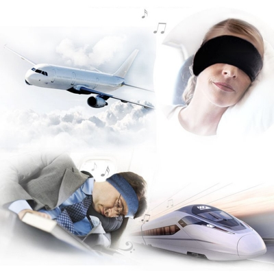 Meditation Headphones Eye Mask