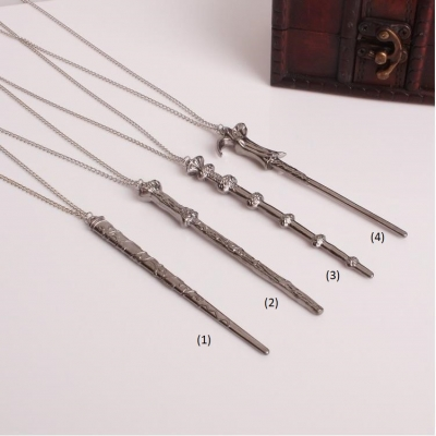 Wizard Inspired Wand Necklac..