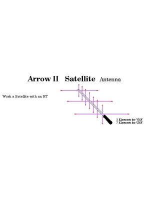 Arrow 2m/70cms antenna.