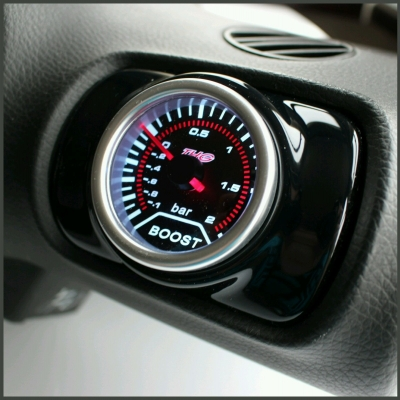 Seat Leon Mk1 Air Vent Pod Gauge Holder - Gloss Black