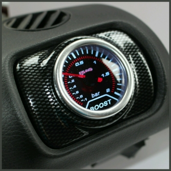 Seat Leon Mk1 Air Vent Pod Gauge Holder - Carbon Effect