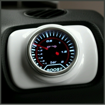 Seat Leon Mk1 Air Vent Pod Gauge Holder - Gloss White