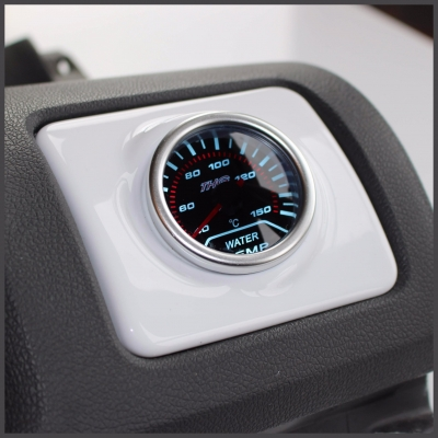 Volkswagen Golf MK5 V Air Vent Gauge Holder- Gloss White