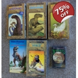 Extinct Formats = 4 VHS Dino Tapes + F..