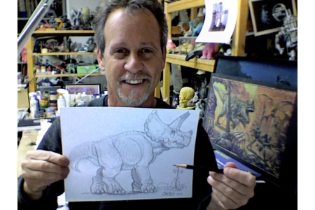 Original Dino Drawing b..