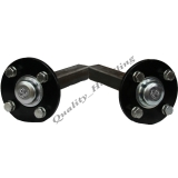 2-Hub & stub axles 4 stud 100mm PCD 35..