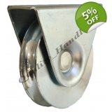 100mm pulley wheel in bracket steel wh..