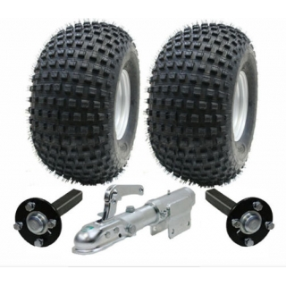 ATV trailer kit - Wanda wheels+hub & s..