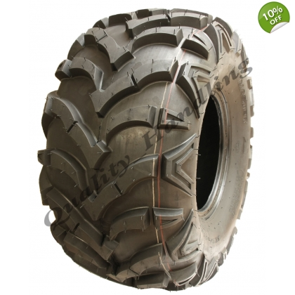 Quad tyre 25X12-10 6ply WANDA 'E' Marked ATV tyre