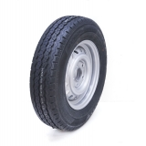 165R13C 5 stud 112mm PCD trailer wheel