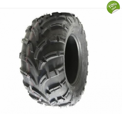 Quad tyre 25X10-12 6ply 7psi E marked