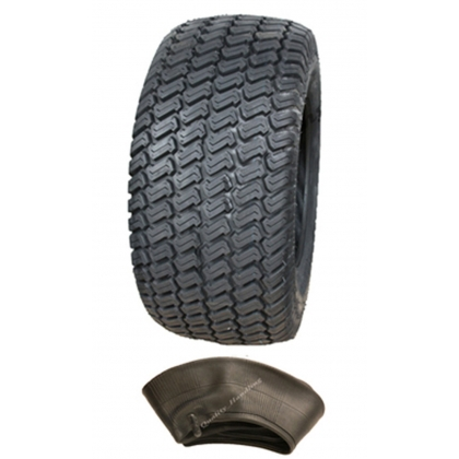 16x7.50-8 4ply Tyre with tube, Multi turf grass